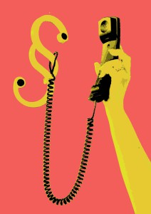 Telefon mit Paragraf verbunden