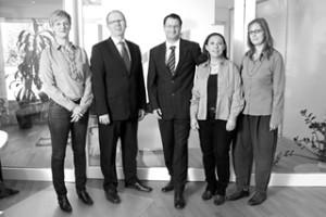 Anwälte und Fachmitarbeitern in der Anwaltskanzlei in Bornheim